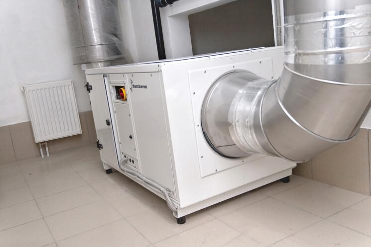 Канальный осушитель воздуха Danterm CDP 165