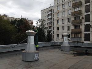 Подключение крышных вентиляторов