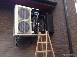 Чиллер с воздушным охлаждением «DANTEX» DN-12CF/SA. Производительность по холоду — 12 кВт