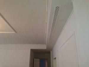 Декоративная гипсовая вентиляционная решетка